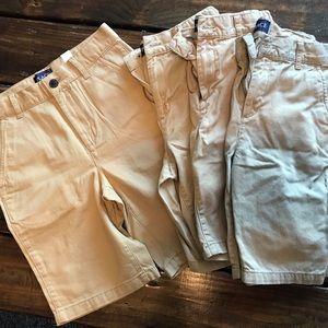 Boys THE CHILDREN'S PLACE Khaki Shorts Size 10